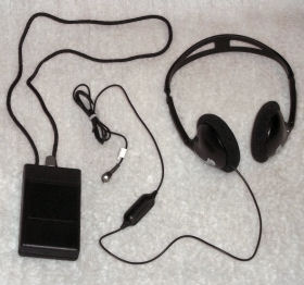 Loop Receiver w/headphones